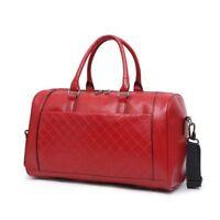 Large Men Leather Male Big Bags Unisex Handbags Travel Shoulder Bag Luggage Bags