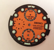 Seiko Velatura Chronograph Divers 200M Mens Watch Dial - New Old Stock