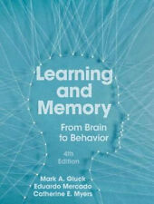 NEW Learning and Memory By Mark A. Gluck Hardcover Free Shipping