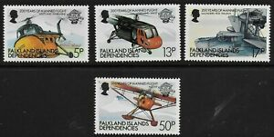 Falkland Islands Dependencies 1983 QEII  200years of Manned Flight - MNH