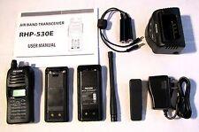 Rexon RHP-530 Air Band Handheld Radio Li-Po battery + empty 6AA case brand new