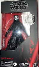 "Star Wars Black Series 6"" Darth Nihilus KOTOR Gaming Greats Exclusive New"