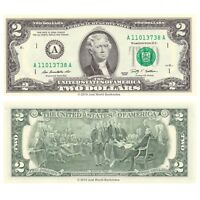 United States USA 2 Dollars $2 2009 P-530A Series A (Boston) Banknotes UNC