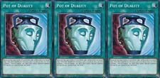 """Pot of Duality"" X 3 1st mint Common YS17-EN028 YUGIOH"