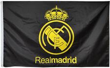 Real Madrid Flag Banner 3x5ft black banner