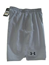 Under Armour Mens Shorts Athletic Loose Heat Gear Size Small Gray NWT 1277142