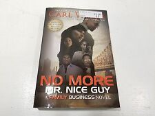 NEW! No More Mr. Nice Guy: A Family Business Novel by Carl Weber Paperback Book