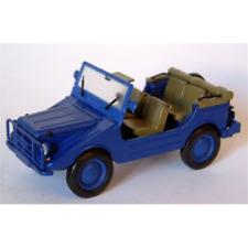 DKW MUNGA 4 THW OPEN BLUE 1:43 Starline Auto Stradali Die Cast Modellino