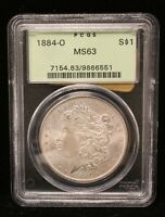 1884-O Morgan Silver Dollar NGC MS-63 New Orleans Uncirculated Looks Great #6551