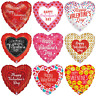 """18"""" Heart Shape Float Helium Foil Balloons For Party Birthday Wedding I Love You"""