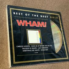 Sealed Wham! The Final Best Of The Best Germany 24k Gold Cd 496167 6 w/Slip Case