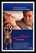 SAY ANYTHING * CineMasterpieces ORIGINAL VINTAGE MOVIE POSTER 1989 ROLLED C9