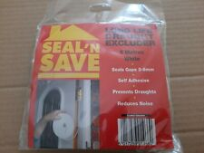 Seal and Save Pack of 5 metres of Foam Draught Excluder - BNIB