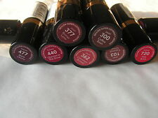 REVLON ROUGE A LEVRES SUPER LUSTROUS N° 440  CHERRIES IN THE SNOW NF NEUF