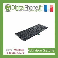 """Clavier Français Pour Apple MacBook Pro 13"""" Unibody A1278 Tout Modèle"""