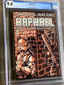 RAPHAEL Teenage Mutant Ninja Turtle #1 CGC 9.0 oww First Print TMNT