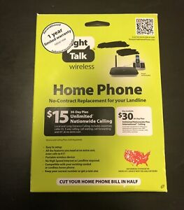 Straight Talk Prepaid Wireless Home Phone Portable Base H226C No Contract