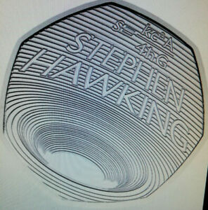 COLLECTORS STEVEN HAWKINS BU 50p FIFTY PENCE COIN HARD TO GET COIN FREE POSTAGE