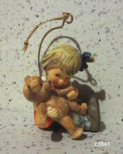 Berta Hummel Goebel Ornament Teddy Tales - New In Box