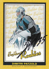DIMITRI PATZOLD SHARKS AUTOGRAPH AUTO 05-06 BEEHIVE ROOKIE RC #170 *22102
