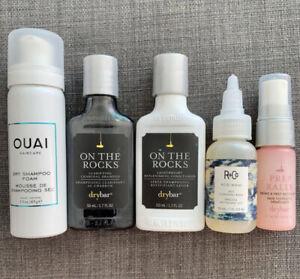 Bundle Of Ouai Drybar and R + Co Hair Products