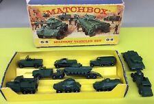 MATCHBOX 1963 G-5 MILITARY VEHICLES SET