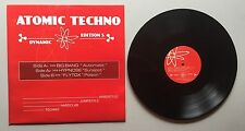 Ref852 Vinyle 33 Tours Atomic Techno 5 Big Bang / Hypnose / Flytox