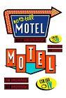 1:87 HO scale model motel signs
