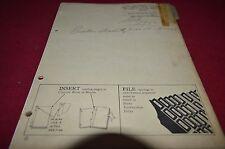 John Deere F110 F120 F130 Moldboard Plow Dealer's Parts Book Manual DCPA3