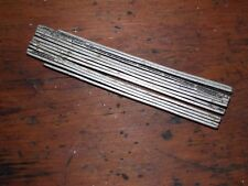 Vintage Rare Pricision Metal zigzag 6ft. rule made in U.S.A.