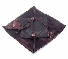 *Ship From U.S* Top Quality Flexible Brown Fine Silk Bag Cover Teapot Protection
