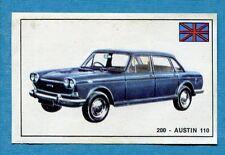 STORIA DELL'AUTOMOBILE Panini Figurina-Sticker n. 200 - AUSTIN 110 -Rec