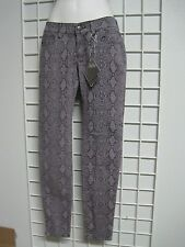 BeBop Size Junior 11 Lilac Animal Print Jeans in Skinny Fit New with Tags!!!