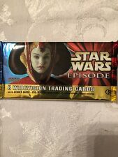 Star Wars Episode 1 Widevision Series 1 Topps Trading 8 Card Pack Sealed Wide