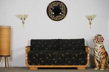 Wandspiegel Gobelin Spiegel Mirror 50er True Vintage Art Deco Rockabilly 60er