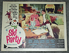 SKI PARTY original 1965 SNOW SKIING movie poster FRANKIE AVALON/BOBBI SHAW