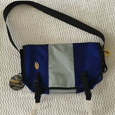 NWT Timbuk2 Classic Messenger Bag w/ Reflectors in Blue and Yellow Sz M