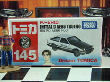 TOMICA #145 INITIAL D AE86 TRUENO SCALE NEW IN BOX DREAM TOMICA SERIES