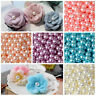 Wholesale 2mm-14mm  No Hole ABS Pearl Round Acrylic Beads 16 Color Pick