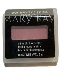 Mary Kay Bold Berry Mineral Cheek Color Blush Full Size
