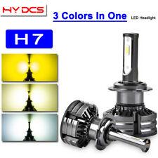 H7 60W 6000LM LED Headlight Bulbs Hi/Lo Beams Lamp for VW Golf MK7 MK6 Jetta AP