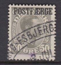 DENMARK : 1925 PARCEL POST 50 ore grey SG P215a  used