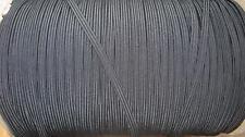 Cable de 10 metros X 4MM 4 Elástico Negro-Costura/Artesanía-Nuevo