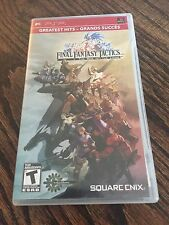 Final Fantasy Tactics: The War of the Lions (Sony PSP, 2007) X1