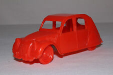1950's Plasticraft Citroen 2CV, Red, Nice Original