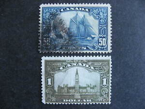Canada Bluenose Sc 158 and Parliament 159 used both have faults see pictures