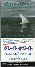 "GREAT WHITE - Call It Rock N' Roll - CD Mini Single 3"" PROMO - Japan - TODP-2247"
