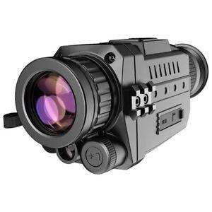 Digital Night Vision Monocular Optics Scope 8x Photo Video Recording Camera Kit