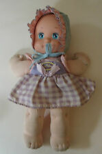 Hermosa Vintage Mattel muñeca bebé vivero 1990 magia del niño con sombrero