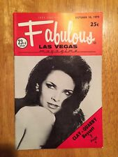 Fabulous Las Vegas Magazine Diana Ross Patti Page Robert Goulet 10/10/1970